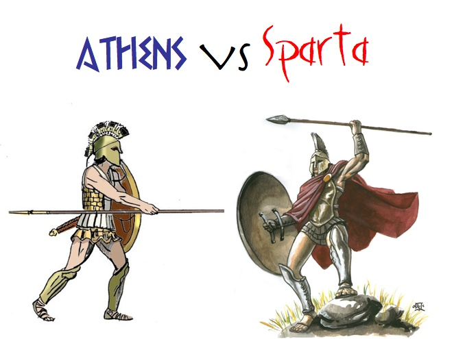 essay on sparta and athens